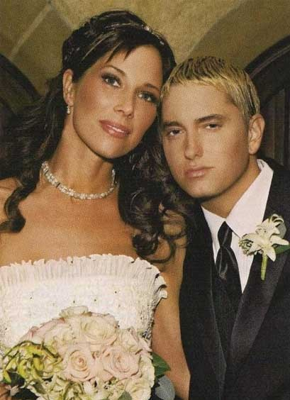 Eminem and Kim got married second times.
