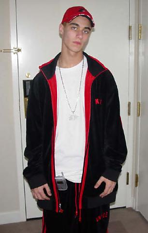 young Nathan Mathers, eminem's brother