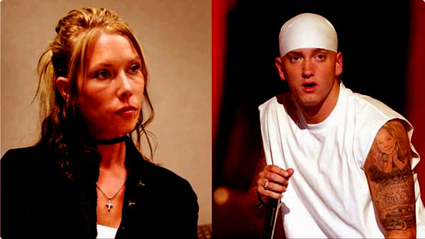 Image of Hailie Jade parents Marshall Mathers (Eminem) father and Kimberly Ann Scott mother