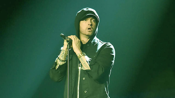 Image of American rapper, Eminem (Marshall Bruce Mathers)